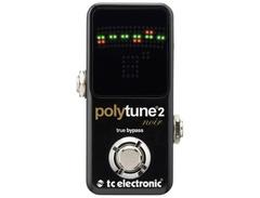 Tc electronic polytune noir mini 2 pedal tuner s