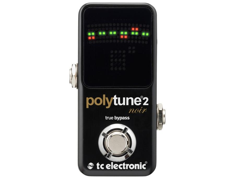Tc electronic polytune noir mini 2 pedal tuner xl