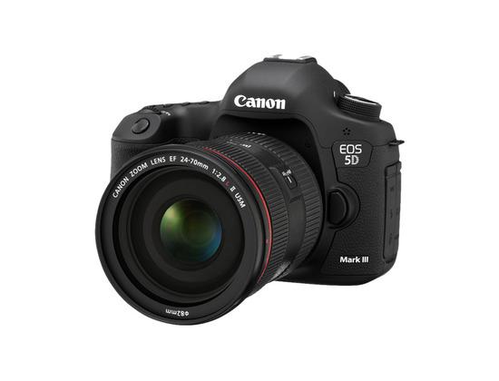 Canon EOS 5D Mark III Digital Camera
