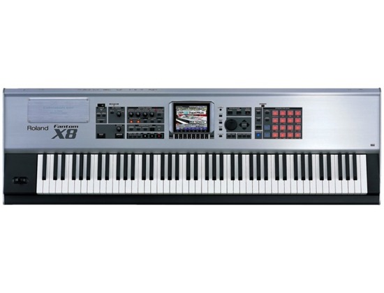 Roland Fantom-X8 88-Key Sampling Workstation