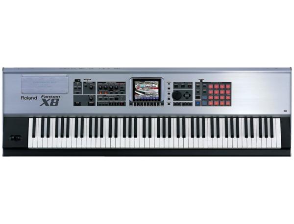 Roland Fantom-X8 88-Key Sampling Workstation