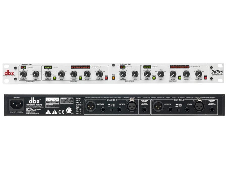 DBX 266xs Compressor/Gate