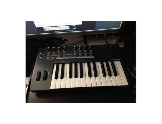 Novation nocturn keyboard 25