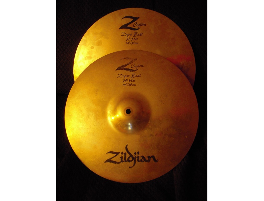 Zildjian z custom 14 dyno beat hi hat xl