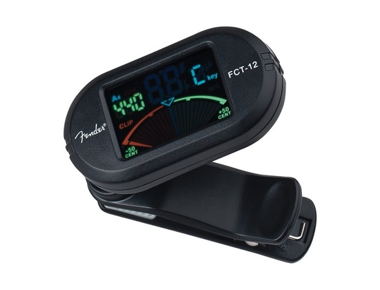 Fender FCT-12 Chromatic Color Clip-On Tuner