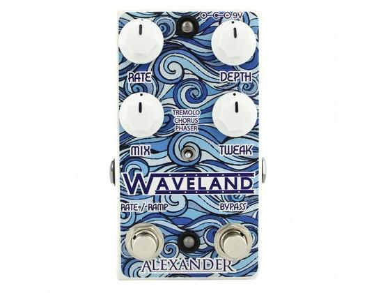 Alexander Waveland Tremolo/Chorus/Phaser