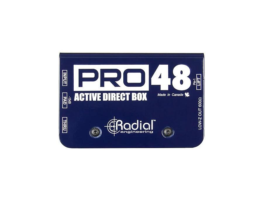 Radial Pro 48 DI Box