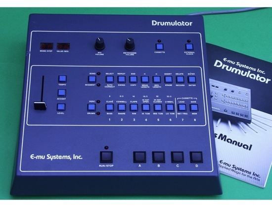 E-mu Drumulator