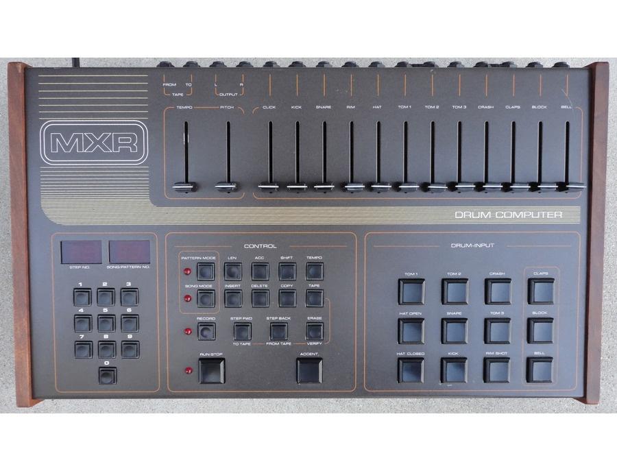 MXR 185 Drum Computer