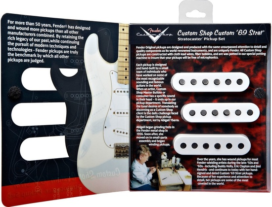 Fender Custom Shop '69 Stratocaster Pickup Set