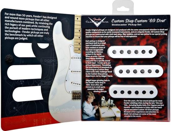Fender Custom Shop '69 Stratocaster Pickup Set