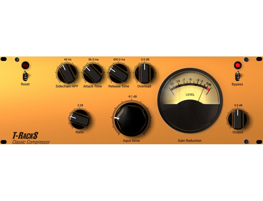 IK Multimedia T-RackS Classic Compressor