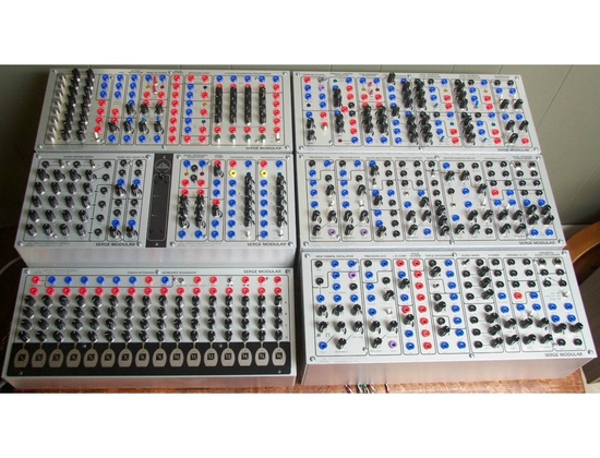 Serge synthesizer - COA Modular Audio Processing Panel (Add to E)