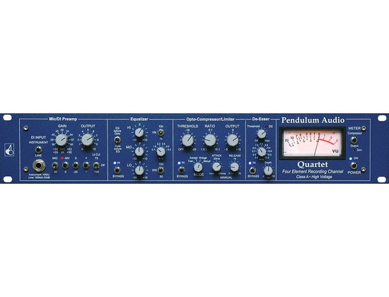 Pendulum audio quartet