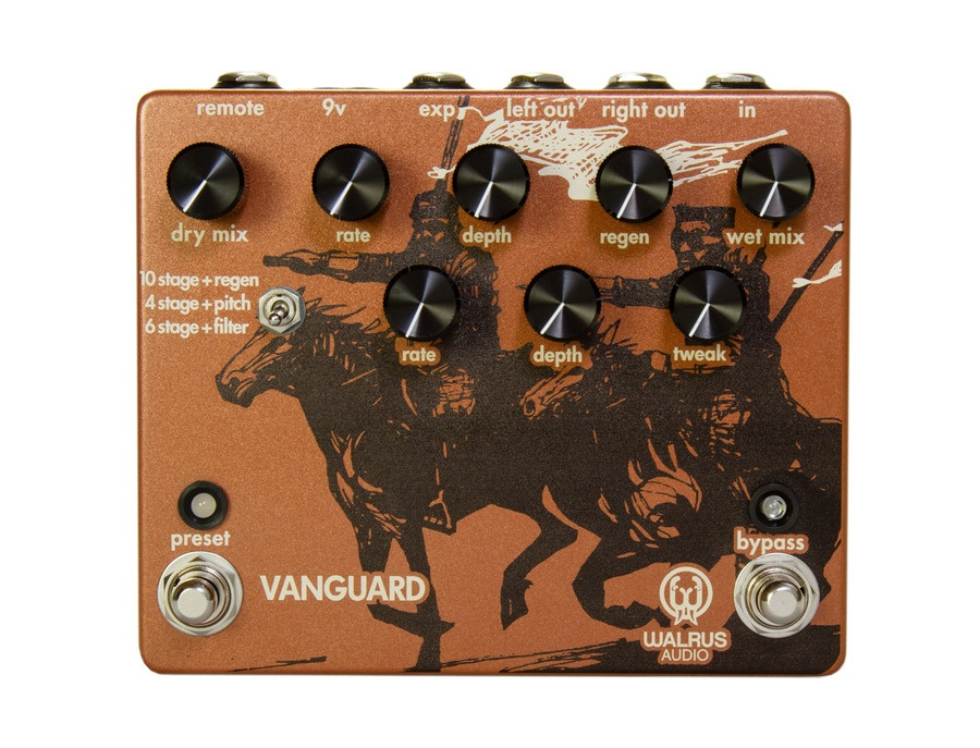 Walrus Audio Vanguard - Dual Phase