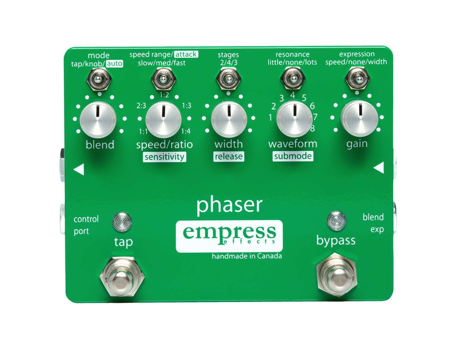 Empress effects phaser pedal xl