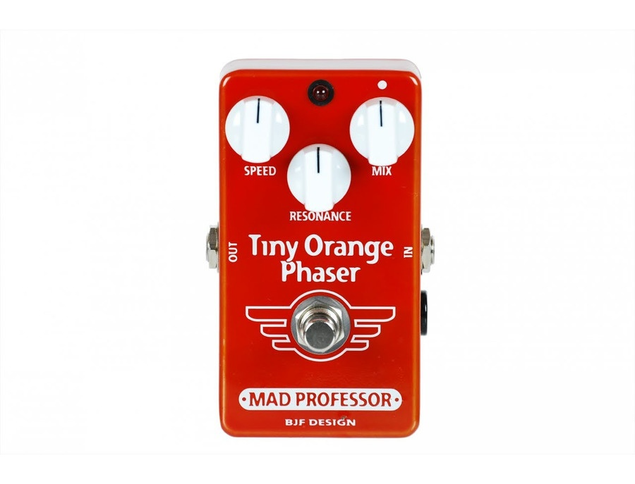 Mad Professor Tiny Orange Phaser Guitar Pedal