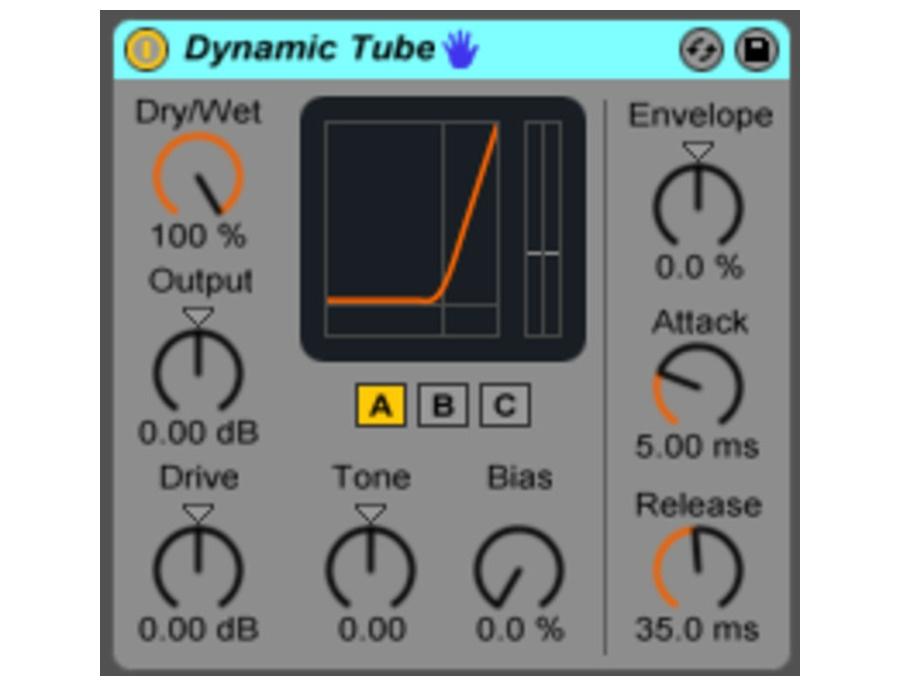 Ableton Dynamic Tube Plugin