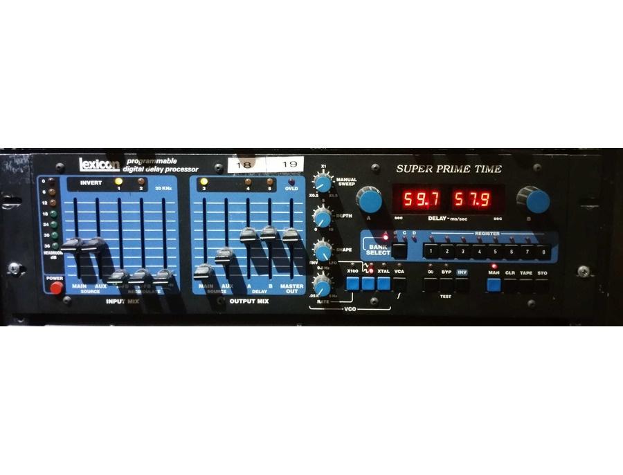 Lexicon m97 super prime time programmable digital delay processor xl