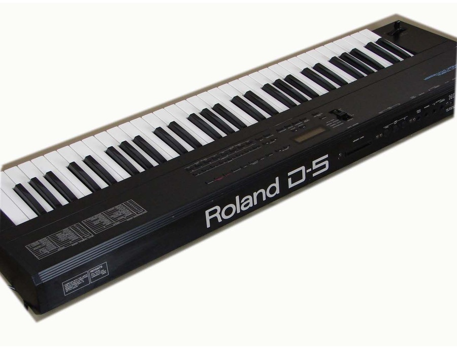 Roland D-5 Linear Synthesizer