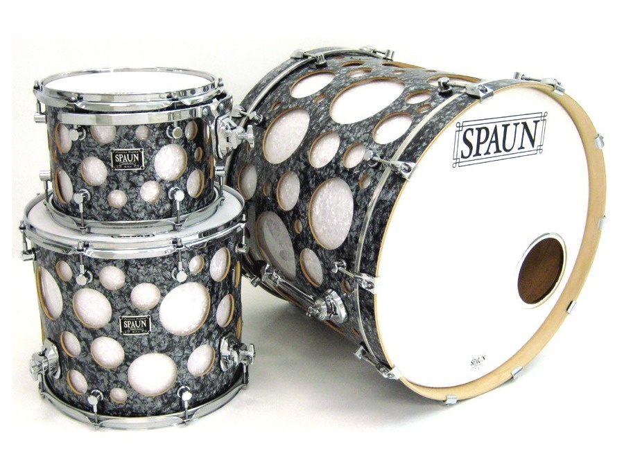 Spaun Edgevent 3pc-Black Diamond & White Pearl
