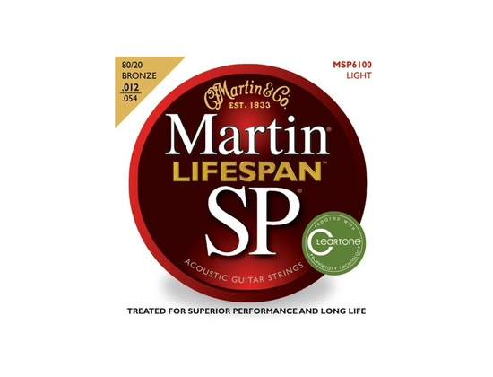 Martin SP Lifespan 80/20 Phosphor Bronze Light - MSP6100