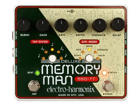 Electro Harmonix Deluxe Memory Man 550 Tap Tempo