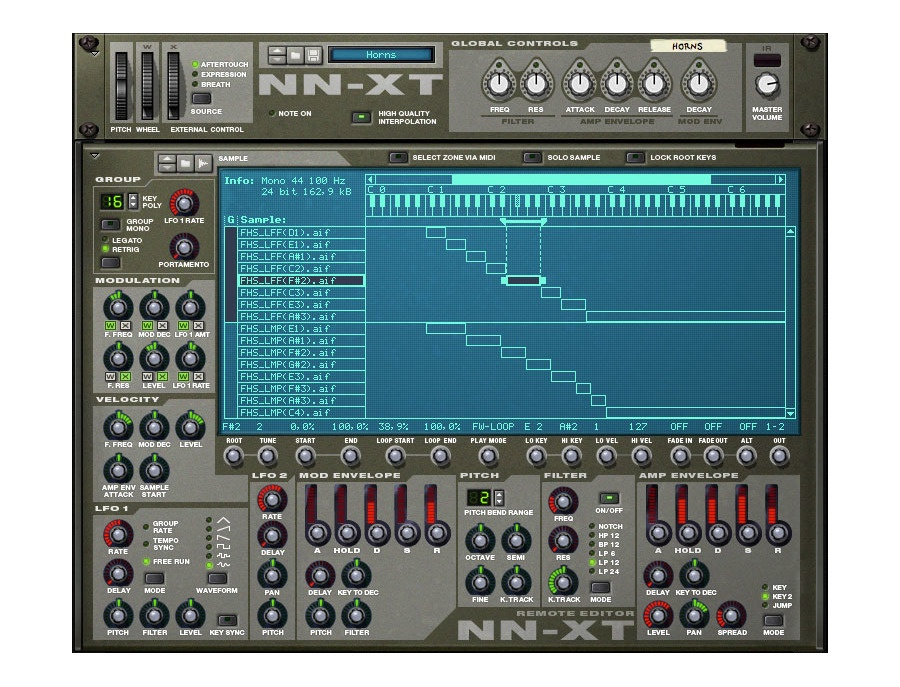 NN-XT Advanced Sampler