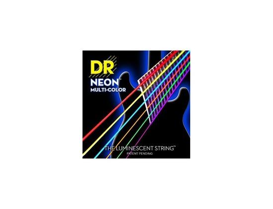 DR Strings Hi-Def Multi Color Neon E10