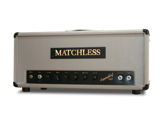 Matchless Superchief 120 Amp Head