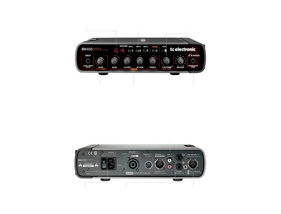 TC Electronic RH450 Bass Amplifier