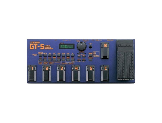 BOSS GT-5 Guitar Effects Processor