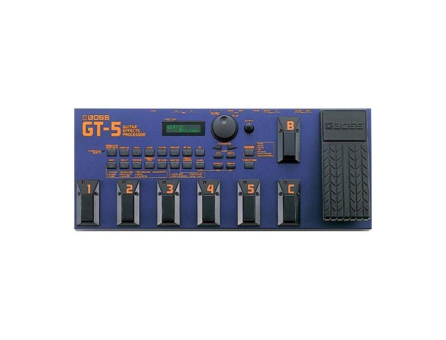 Boss gt 5 guitar effects processor xl