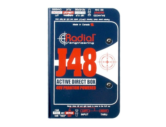 Radial J48 Direct Box