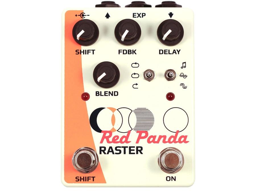 Red Panda Raster