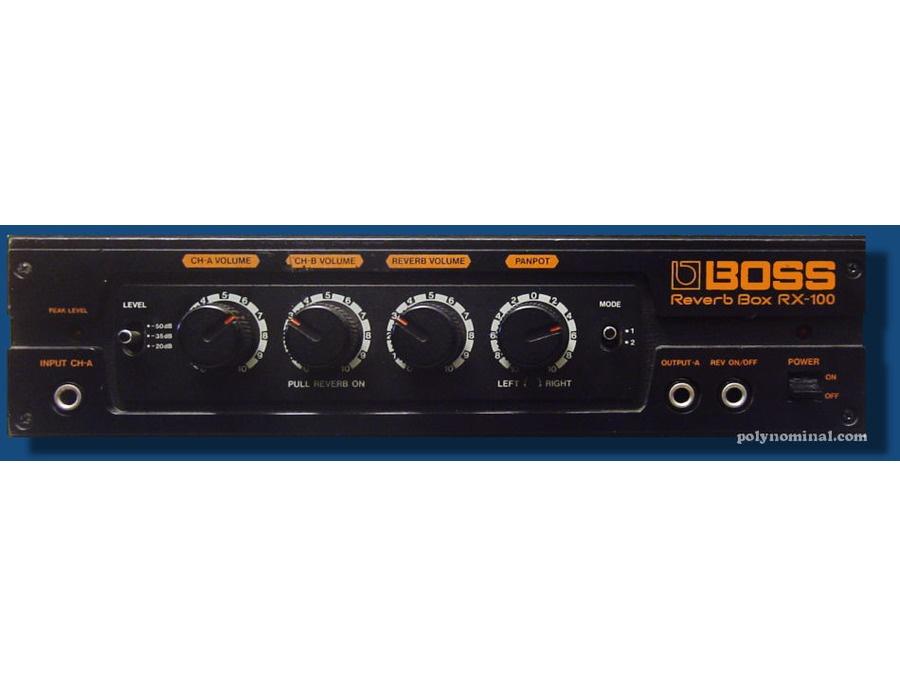 Boss RX-100