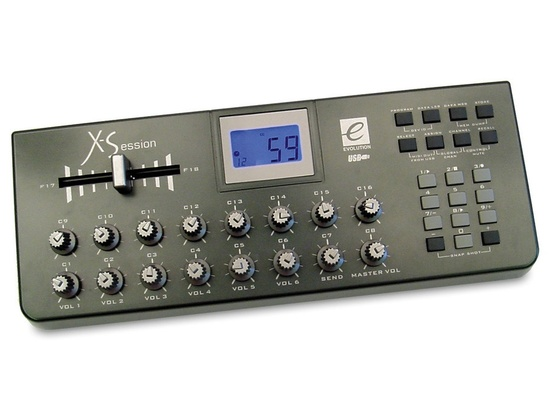 Evolution X-Session USB MIDI Controller