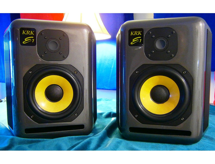 Krk expos e7 reviews prices equipboard for Yamaha hs80 vs hs8