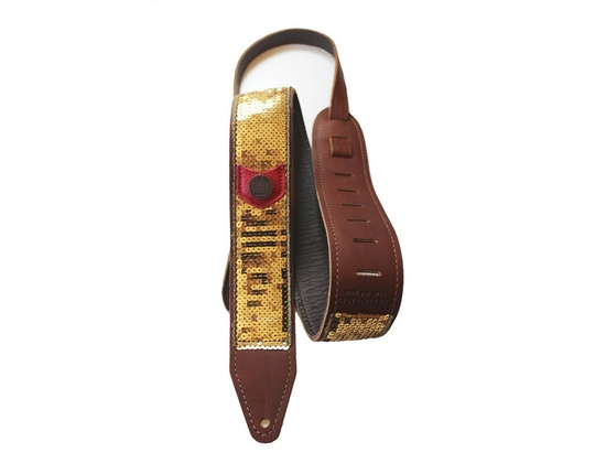 "Copperpiece ""Glovely"" Sequin Guitar Strap"
