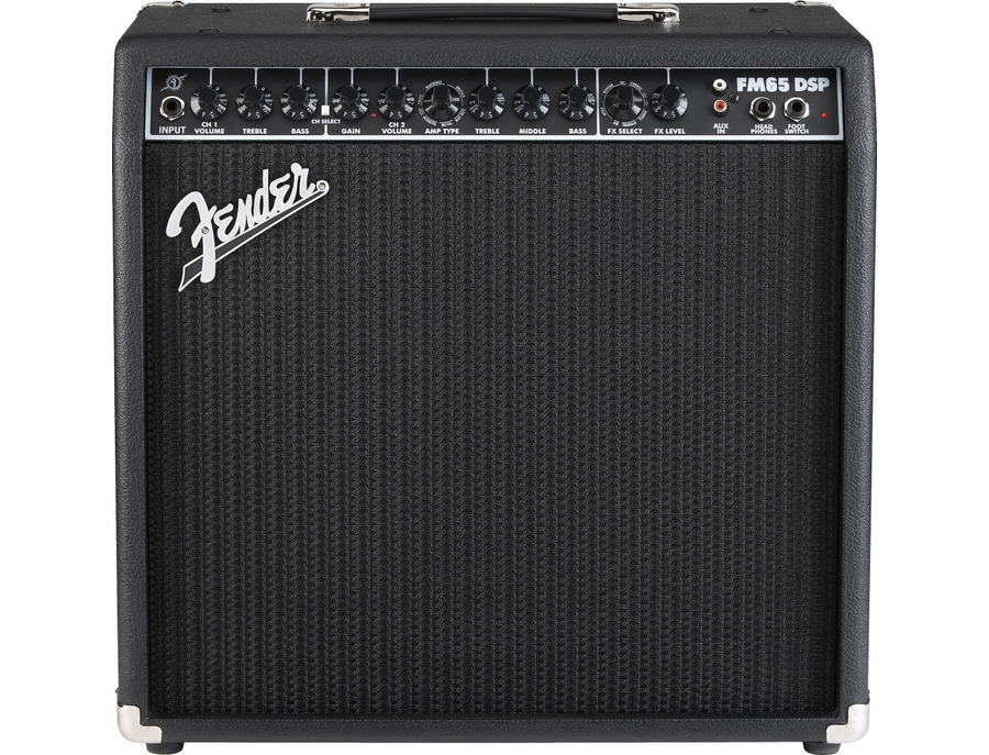 Fender FM65DSP Guitar Combo Amplifier (65 Watts, 1x12 in.)