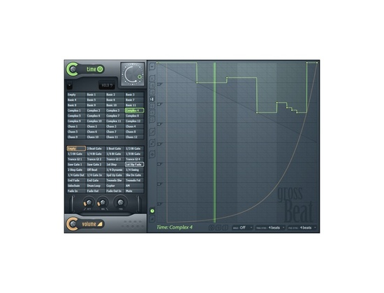 Image Line Gross Beat Time and Volume Manipulation Effect Plugin