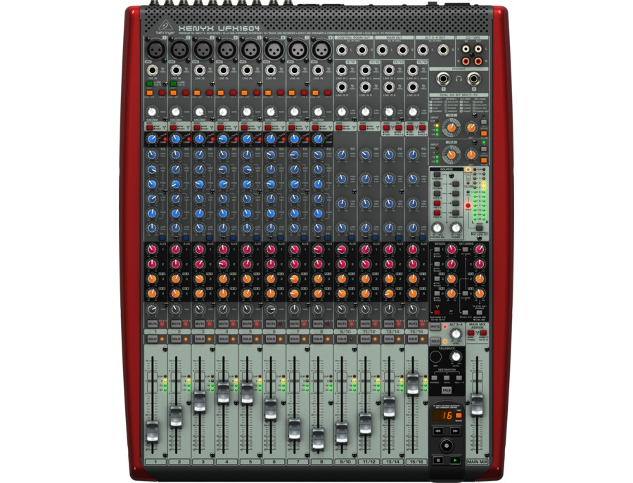 behringer xenyx ufx1604 reviews prices equipboard. Black Bedroom Furniture Sets. Home Design Ideas