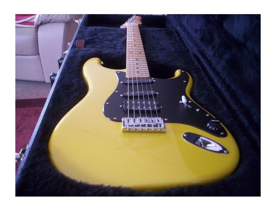 Yellow ESP Stratocaster