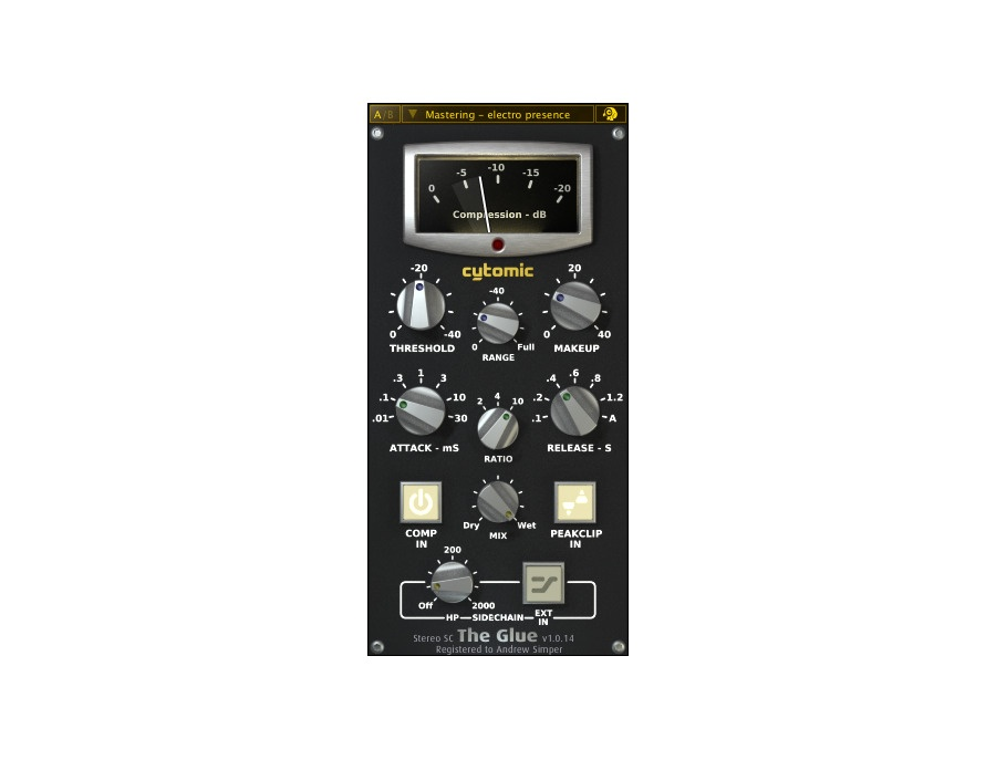 Cytomic The Glue Software Compressor Plugin
