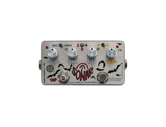 ZVex Sonar Tremolo Guitar Effects Pedal