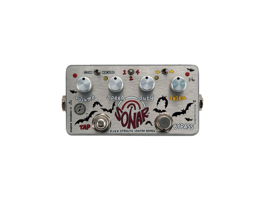 ZVex Sonar Tremolo Guitar Effects Pedal