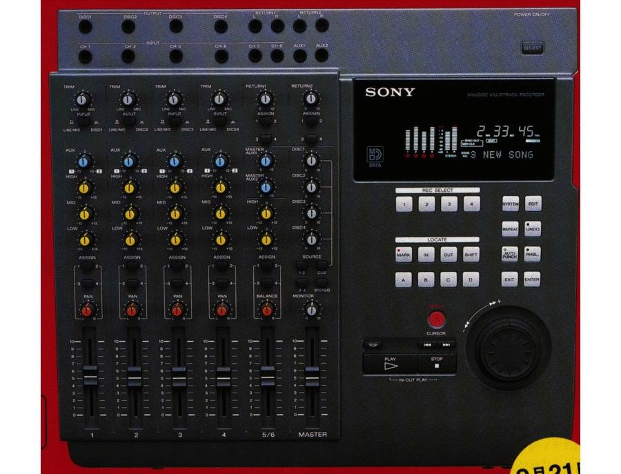 Sony mdm x4 digital audio recorder xl