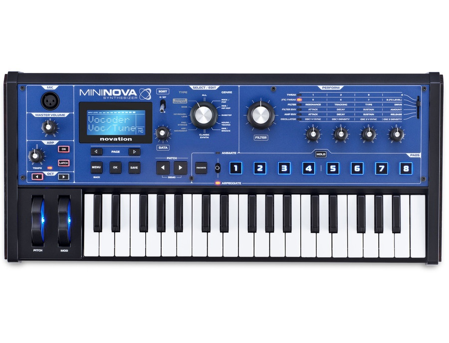 Novation mininova xl