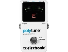 Tc electronic polytune polyphonic tuner pedal s