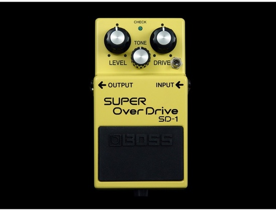 Boss SD-1 Super Overdrive Keeley Mod